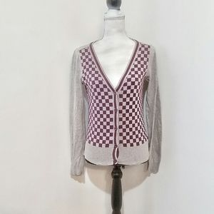Hermitage 1981 Checkered Vintage Feel Sweater
